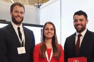 Marc, Sophie and Will at the National Education Show 2017