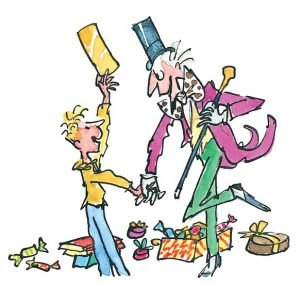 Charlie and the Chocolate Factory Quentin Blake Illustration