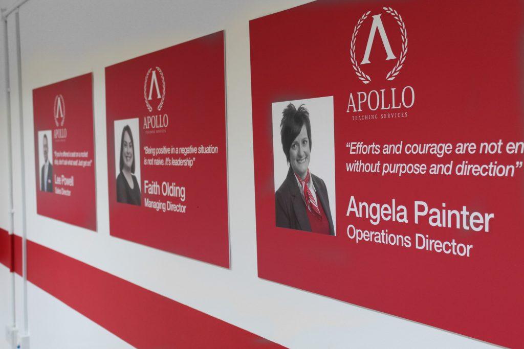 Apollo Teaching Services Display