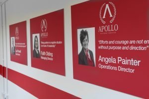 Apollo Teaching Services Display