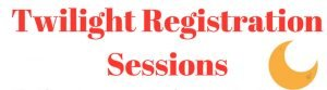 Twilight Registration Sessions featured image