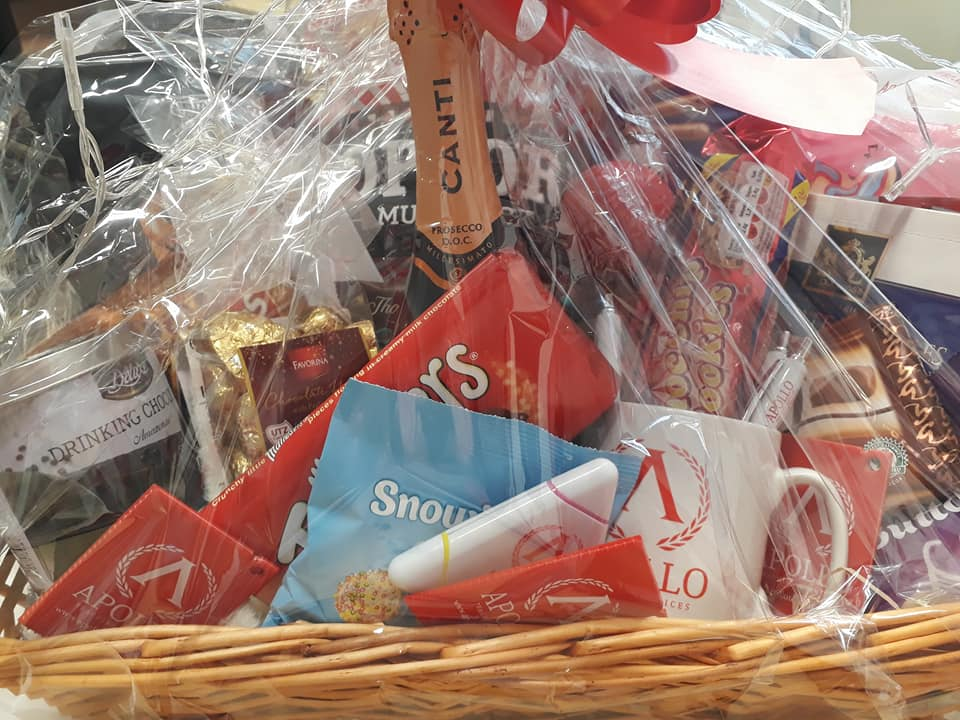 Photos of the January 2018 hamper