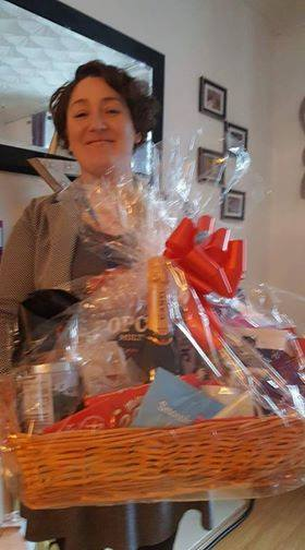 Laura Morgans, winner of the Apollo Facebook Hamper Competition.