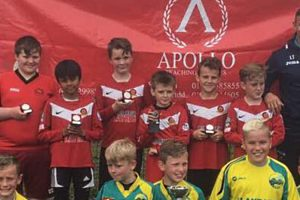 Winning teams of Apollo Swansea's Football Tournament 2017
