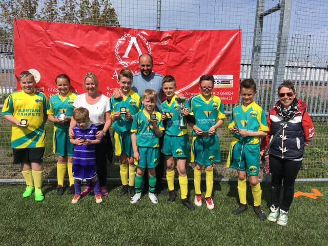 Ysgol Bro Tawe, Winners of the 2018 Inter Schools Football Tournament.